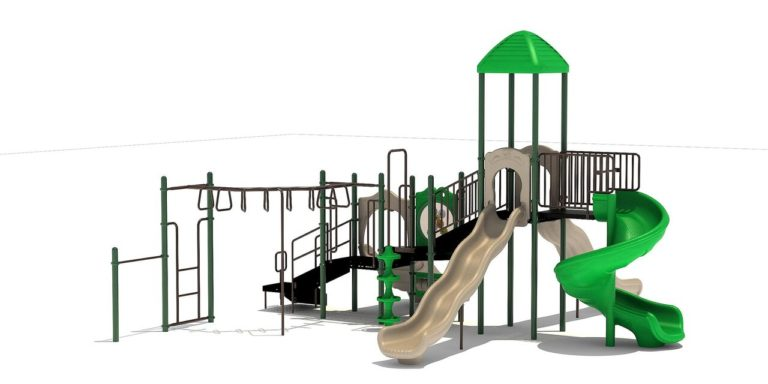 towers of fun commercial playground system 3