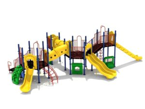 x factor commercial playground system 2