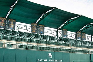 athletic and outdoor shade structures