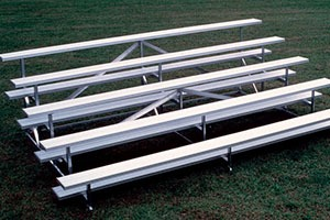 commercial grade bleachers