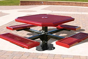 commercial grade picnic tables