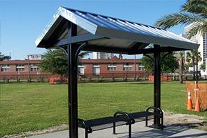 metal shelter pavilion 2