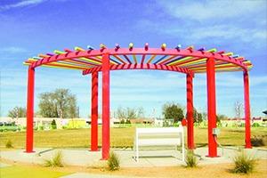metal shelter pavilion 3