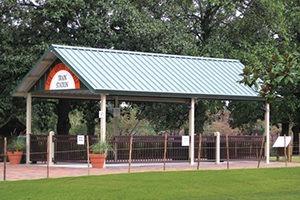 metal shelter pavilion 5