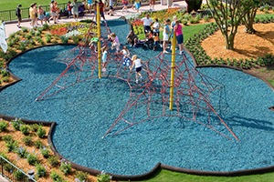 rubber mulch playground surfacing