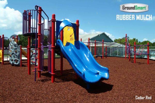 ADA Rubber Playground Mulch 4