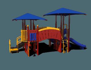port hampton commercial playground system 1