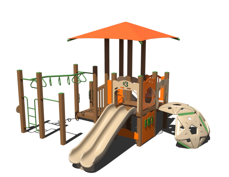 razzle dazzle commercial playground system 1