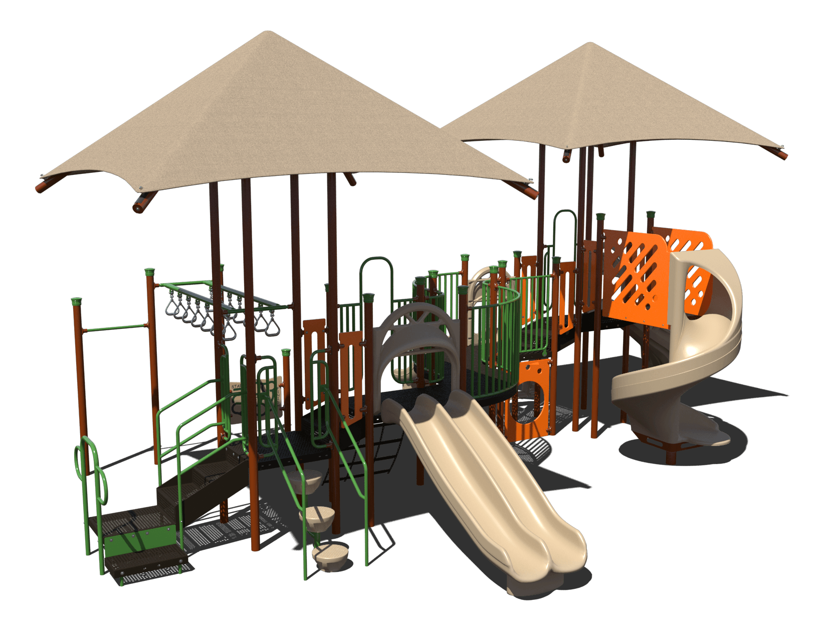serpintine commercial playground system 1