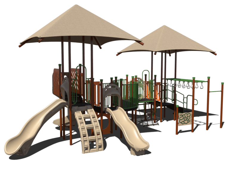 serpintine commercial playground system 2
