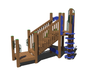 step to fun commercial playground system 1