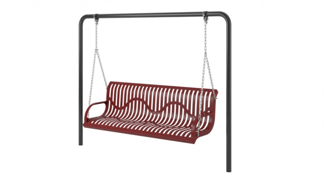 1 cantilever 1 bay frame only with hangers pro for Swing set frame only