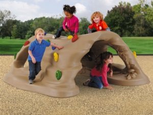 discover cove nature themed playground crawl tunnel 6