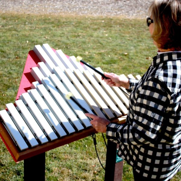 Duet Outdoor Playground Instrument 18 Note Xylophone