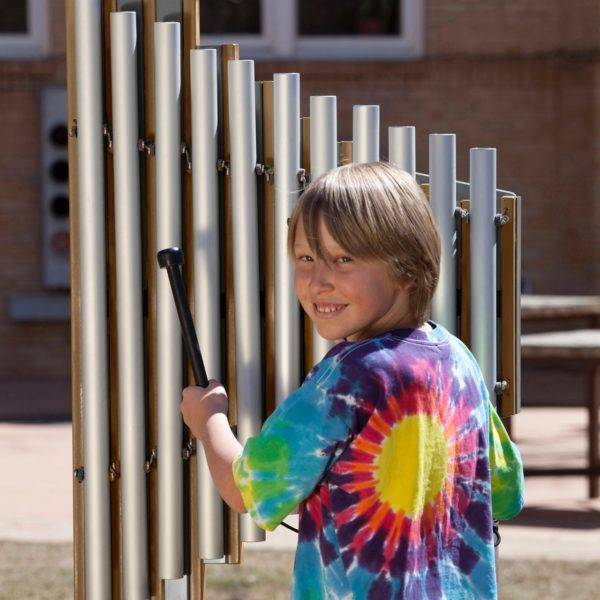 griffin outdoor playground musical instruments 1