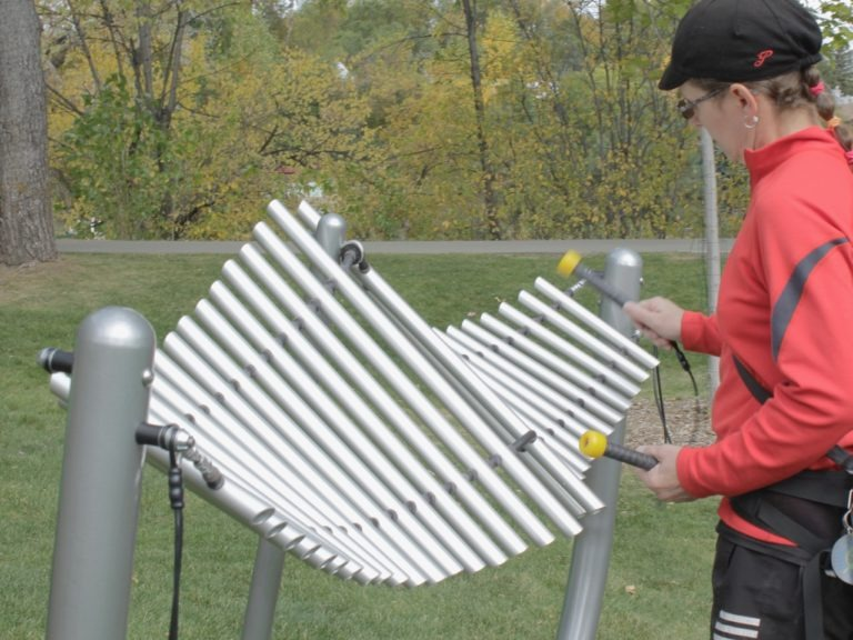 manta ray outdoor playground musical instruments 3