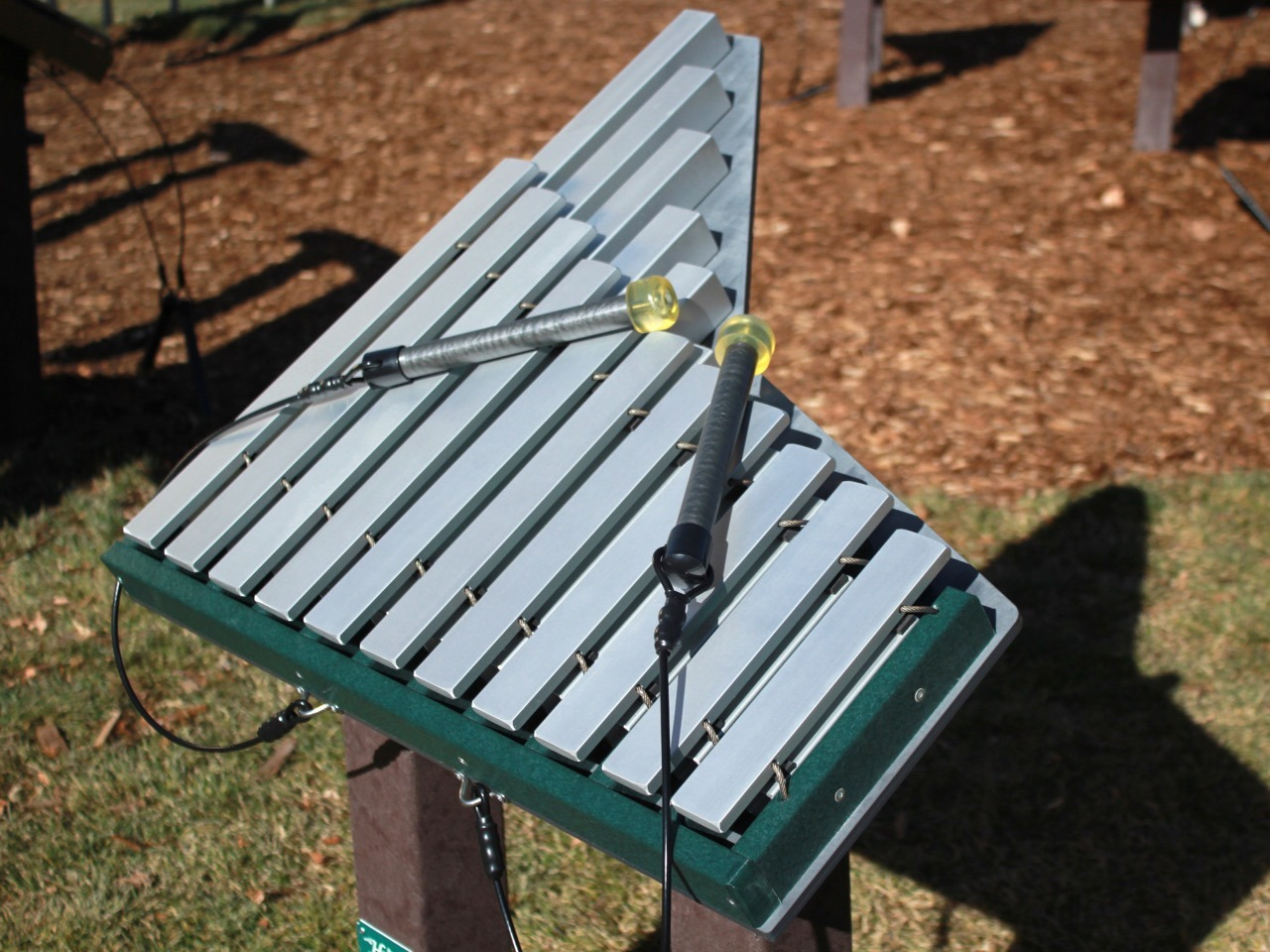 Merry Outdoor Playground Instrument 11 Note Matallophone