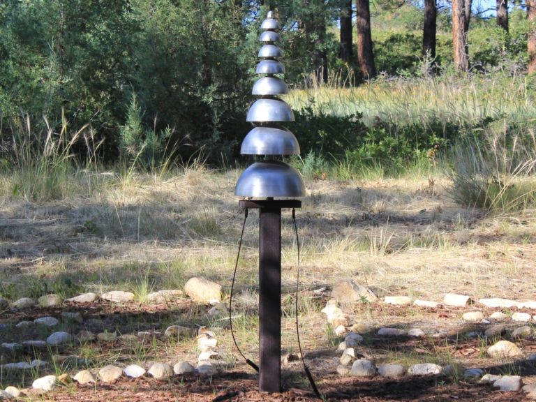 pagoda bells outdoor playground musical instruments 2