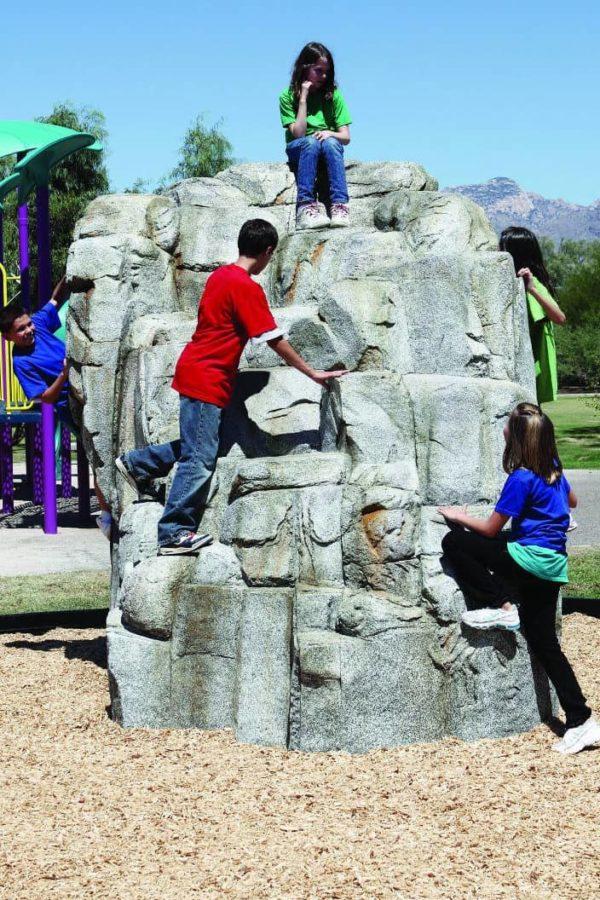 playground climbing boulder granite large 3