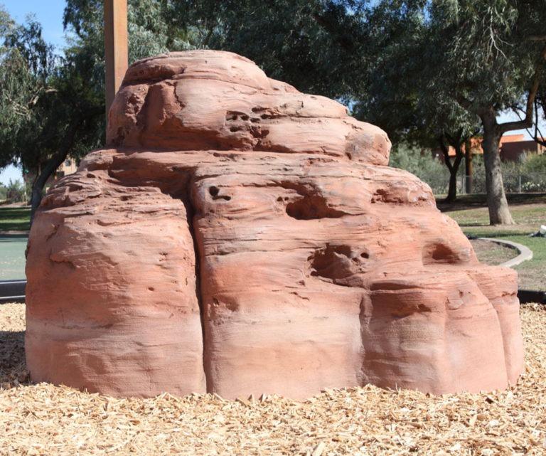 playground climbing boulder sandstone small 1