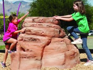 playground climbing boulder sandstone small 3