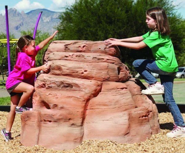 playground climbing boulder sandstone small 3