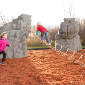 playground-climbing-boulder-with-nets-mount-mckinley