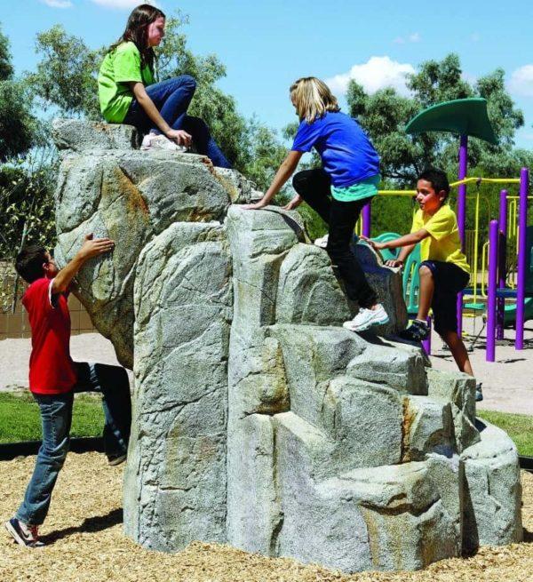 playground climbing boulders dark granite medium 1