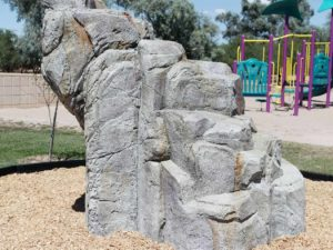 playground climbing boulders dark granite medium 2