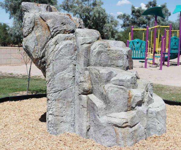 playground climbing boulders dark granite medium 2