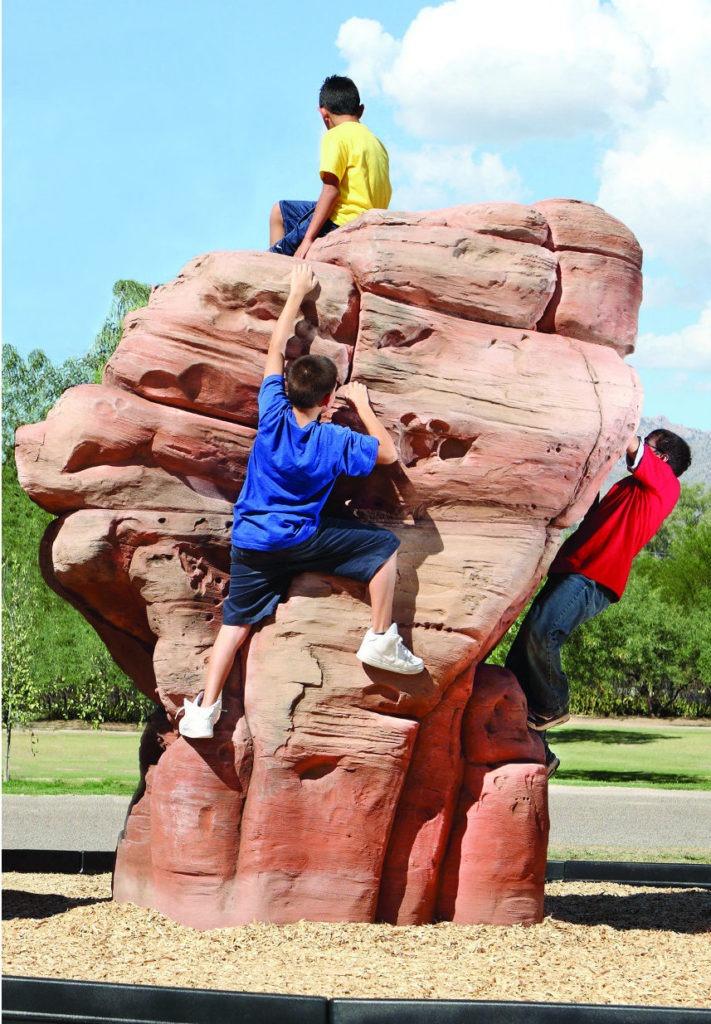 playground climbing boulders sandstone large 1