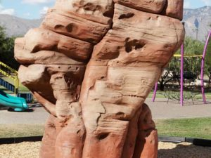 playground climbing boulders sandstone large 2