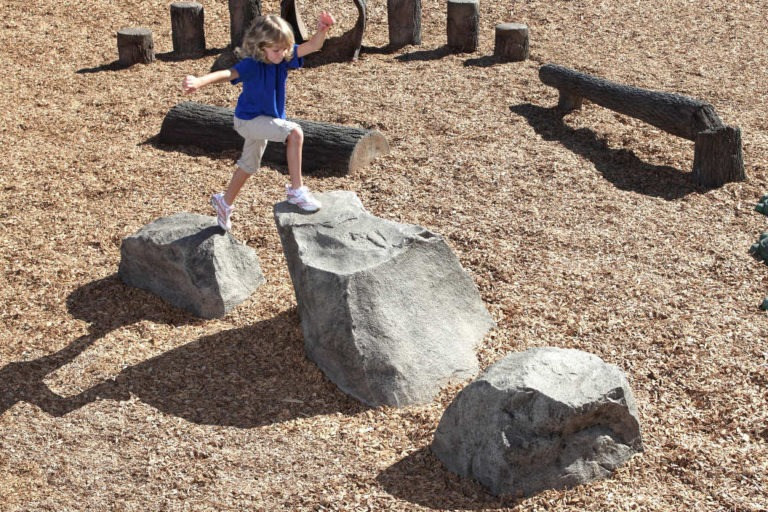 playground stepping boulders ages 5 12 4