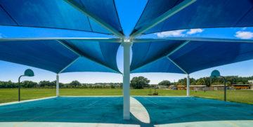 basketball court multi dome super dome shades 11