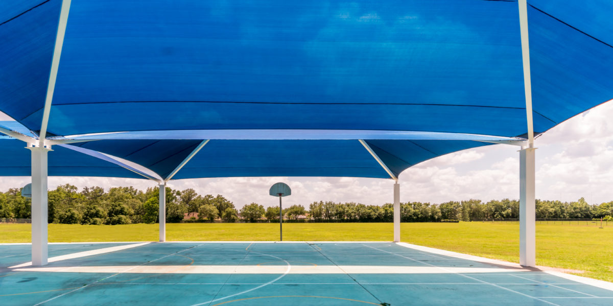 basketball court multi dome super dome shades 28