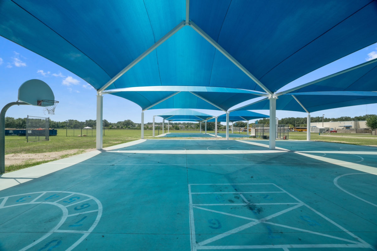 basketball court multi dome super dome shades 9