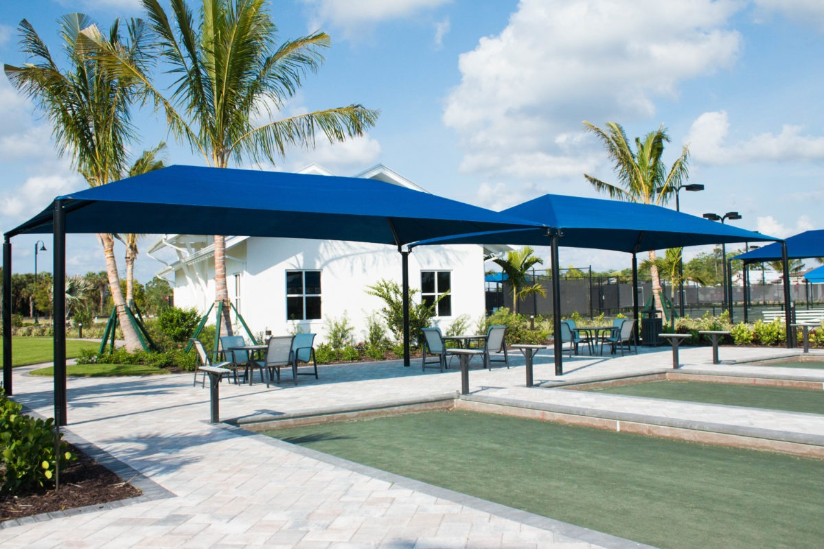 community hoa amenities center clubhouse shade structures 3 1