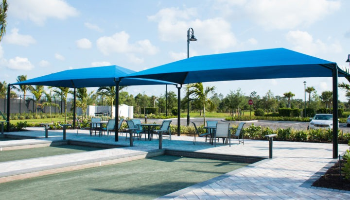community hoa amenities center clubhouse shade structures 4 1