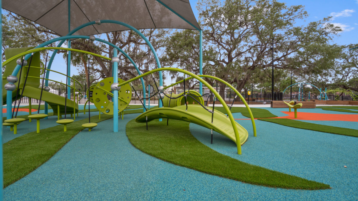 JBL Park Tampa Poured In Place Playground Surfacing 1