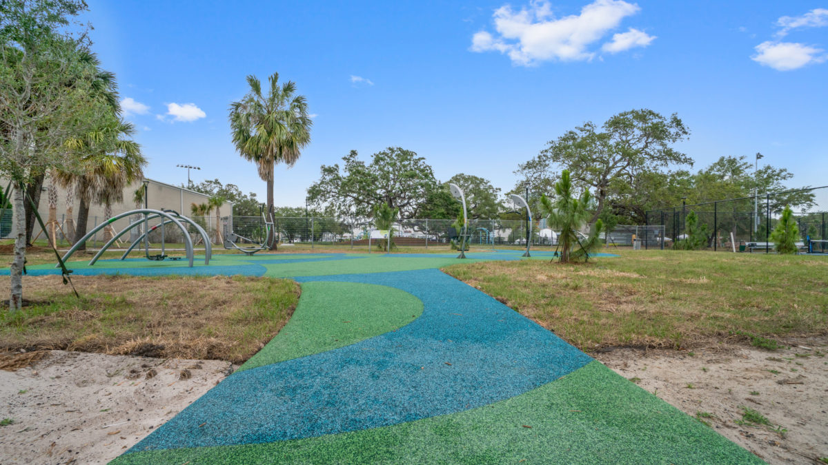 JBL Park Tampa Poured In Place Playground Surfacing 10
