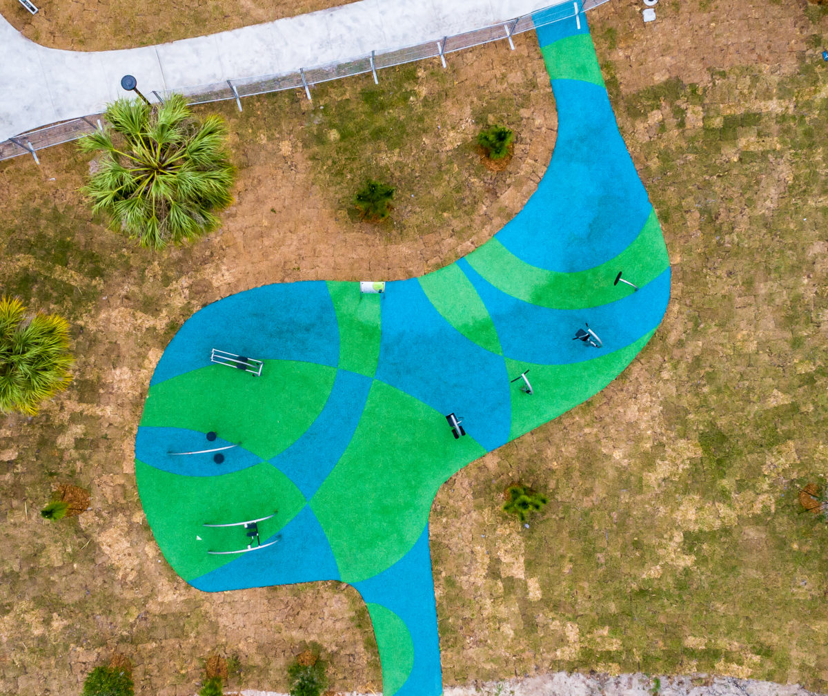 JBL Park Tampa Poured In Place Playground Surfacing 13