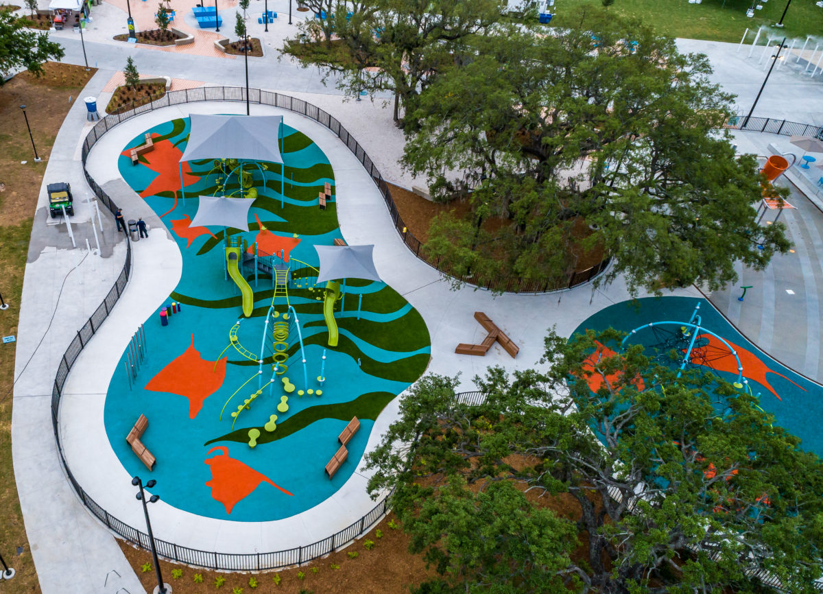 JBL Park Tampa Poured In Place Playground Surfacing 19