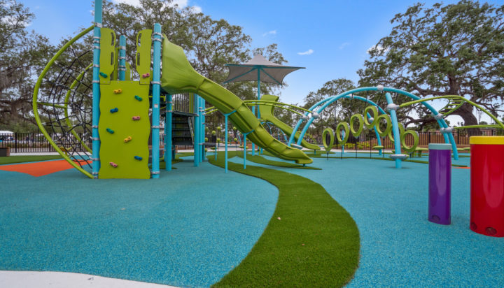 JBL Park Tampa Poured In Place Playground Surfacing 2