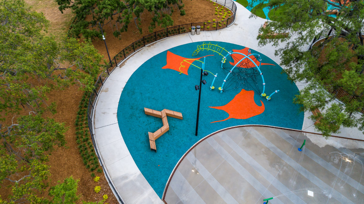 JBL Park Tampa Poured In Place Playground Surfacing 22