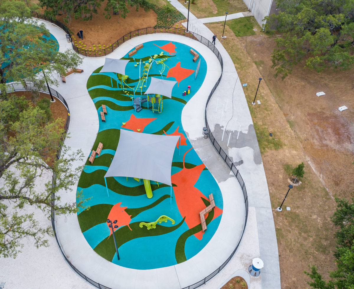 JBL Park Tampa Poured In Place Playground Surfacing 23
