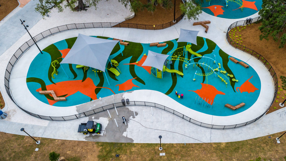 JBL Park Tampa Poured In Place Playground Surfacing 24