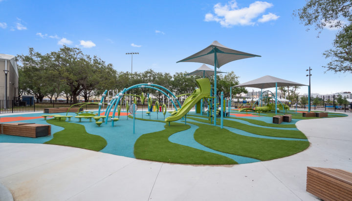 JBL Park Tampa Poured In Place Playground Surfacing 29