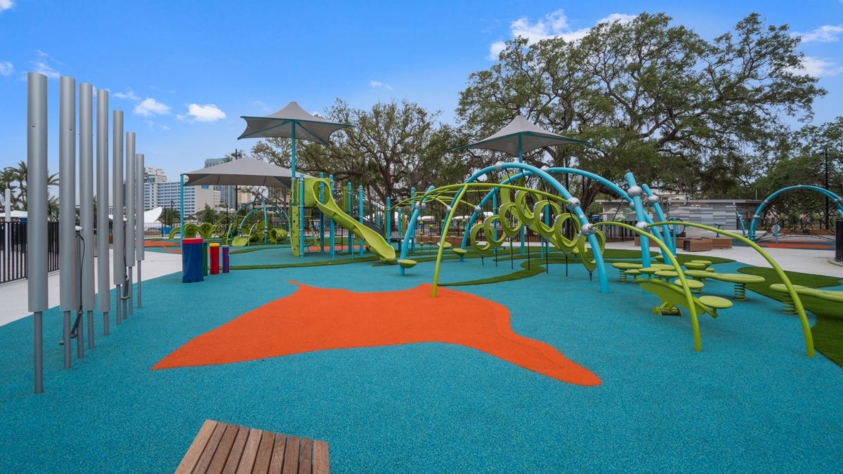 JBL Park Tampa Poured In Place Playground Surfacing 3