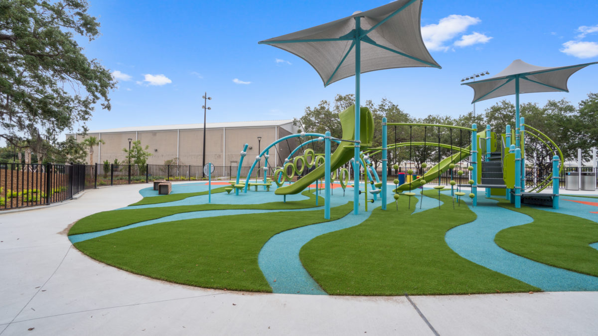 JBL Park Tampa Poured In Place Playground Surfacing 30