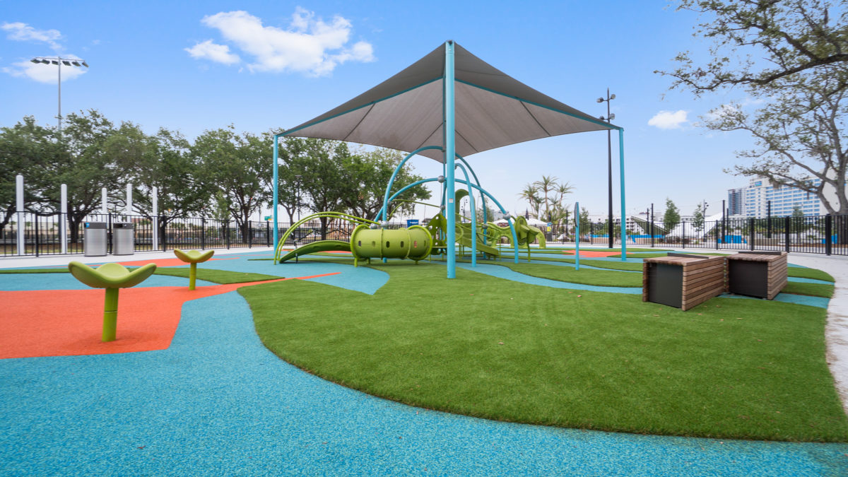 JBL Park Tampa Poured In Place Playground Surfacing 32